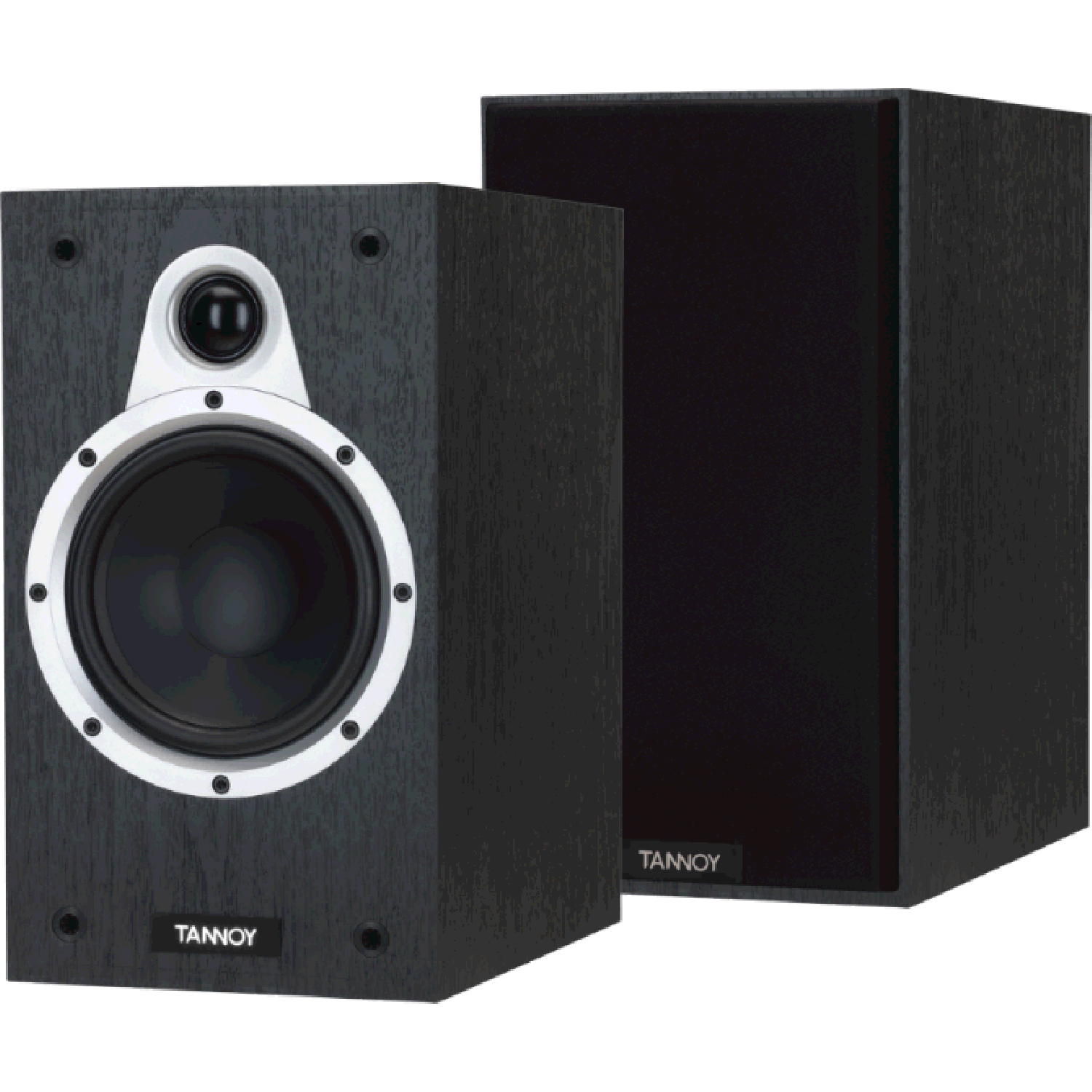 Speakers transparent one. Tannoy eclipse bookshelf