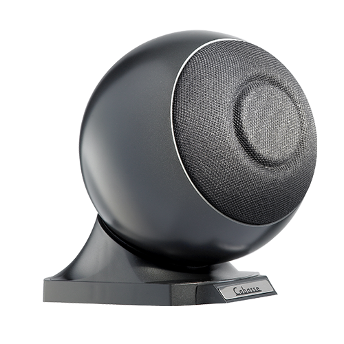 Speakers transparent sphere. Io on base download