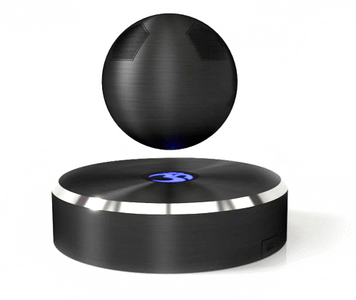 Speakers transparent sphere. Make a statement with