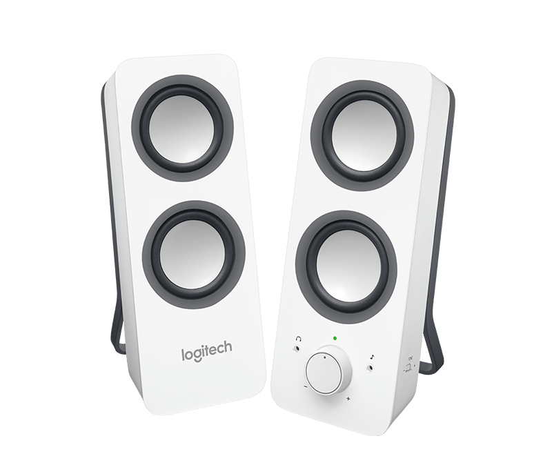 Speakers transparent z200. Logitech z stereo with
