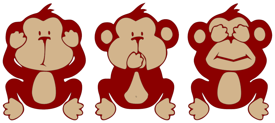 Hear no evil png. Political flavors environmentalism have