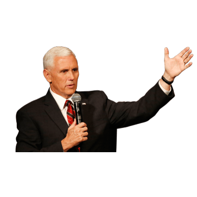 Mike pence head png. Podium confused trump transparent