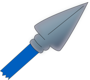 Spear clipart holding. Panda free images spearclipart