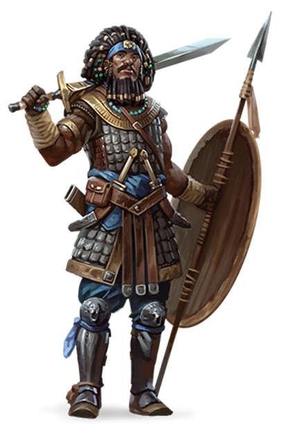 Spear warrior png. Methods madness d e