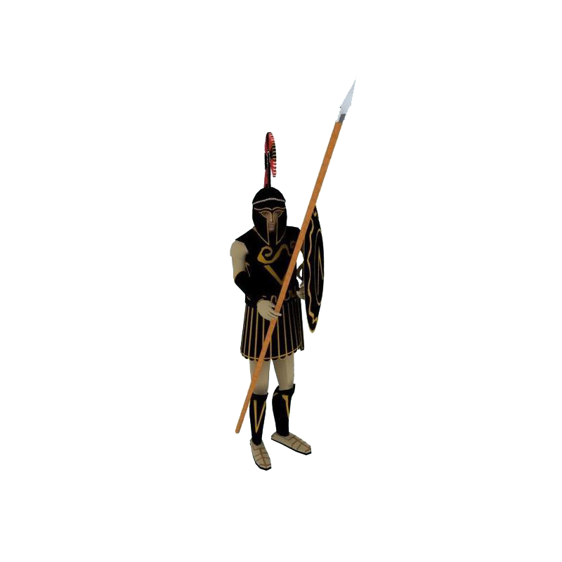 Spear warrior png. Shield weapon ancient history