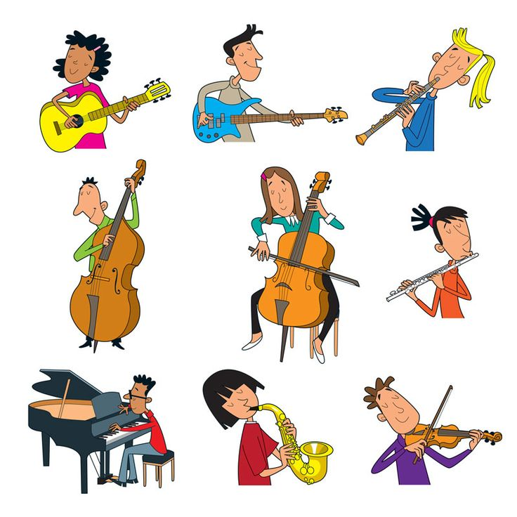Special clipart band class. Best music clip