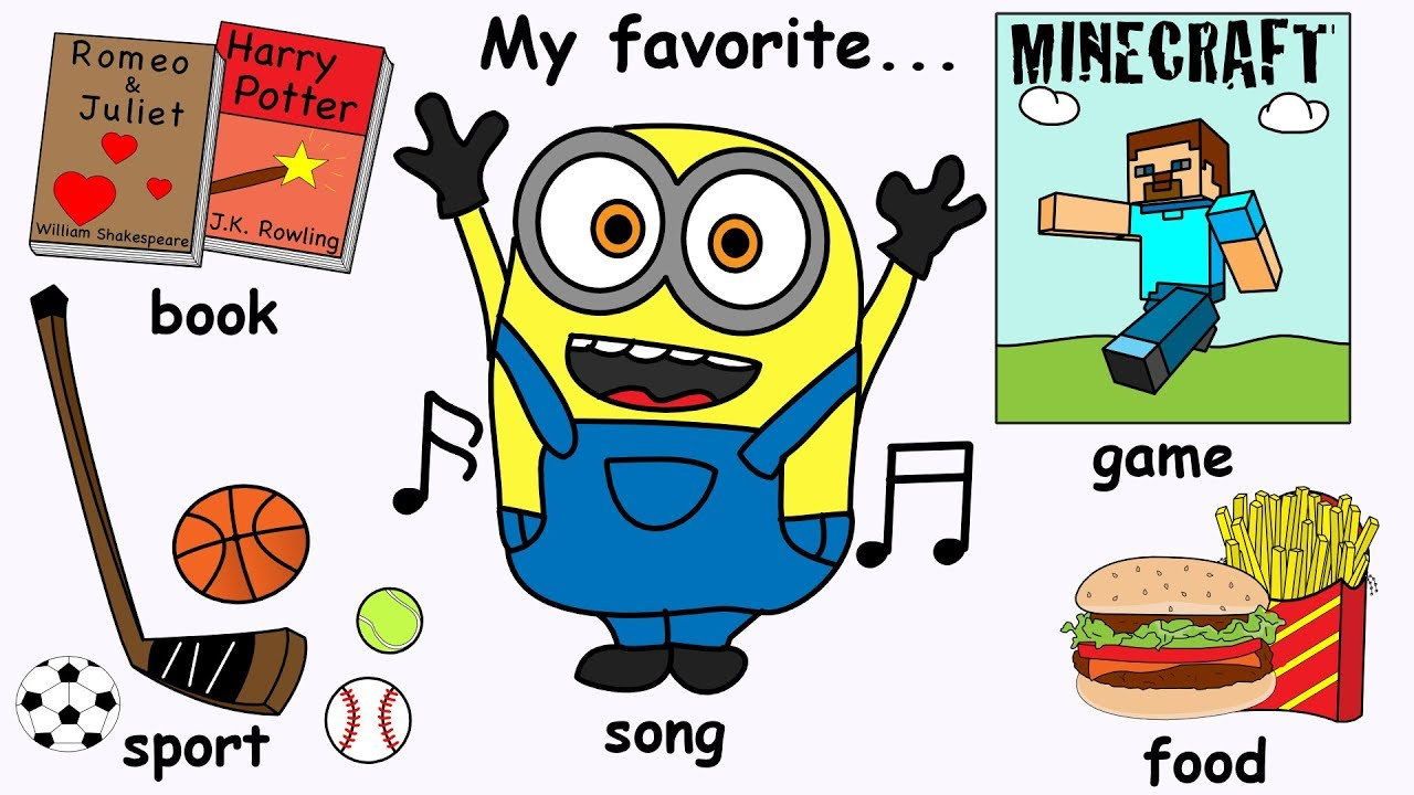 Special clipart favorite thing. My things song what