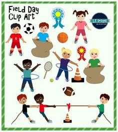 Special clipart field day activity. Cats l e designs
