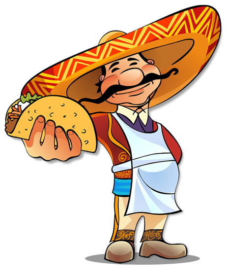 cartoon tacos png