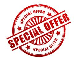 Special clipart special offer.