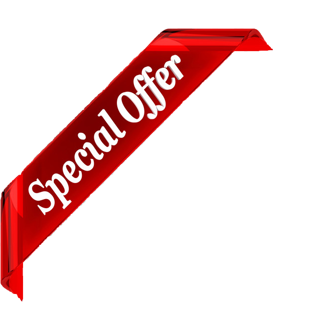 Special offer banner png. Edited transparent de inc