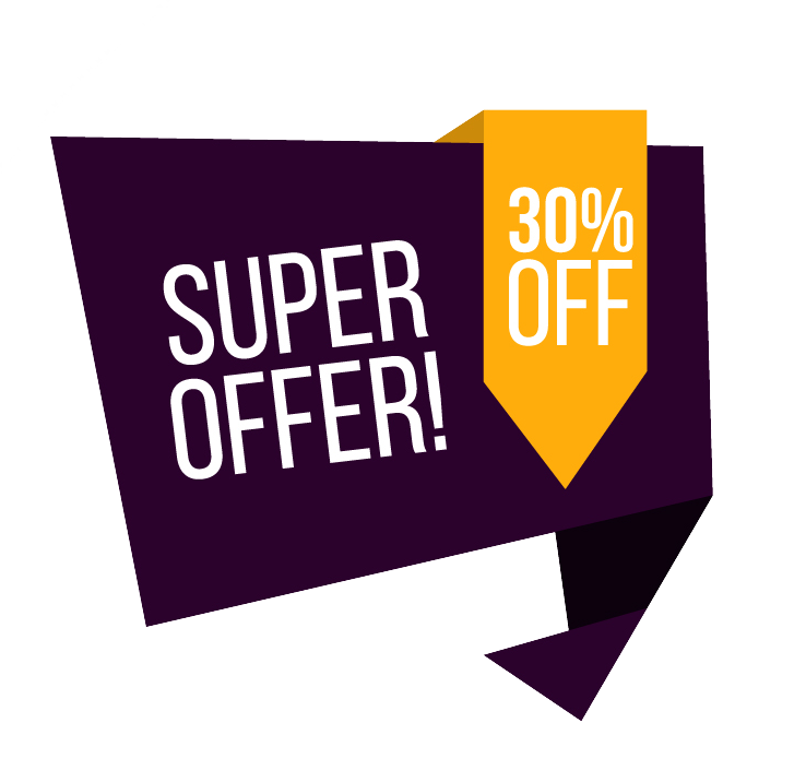 Special offer banner png. Transparent images vector clipart