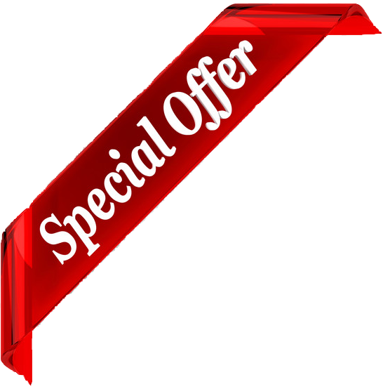 Special offer banner png. Edited transparent oxford driving