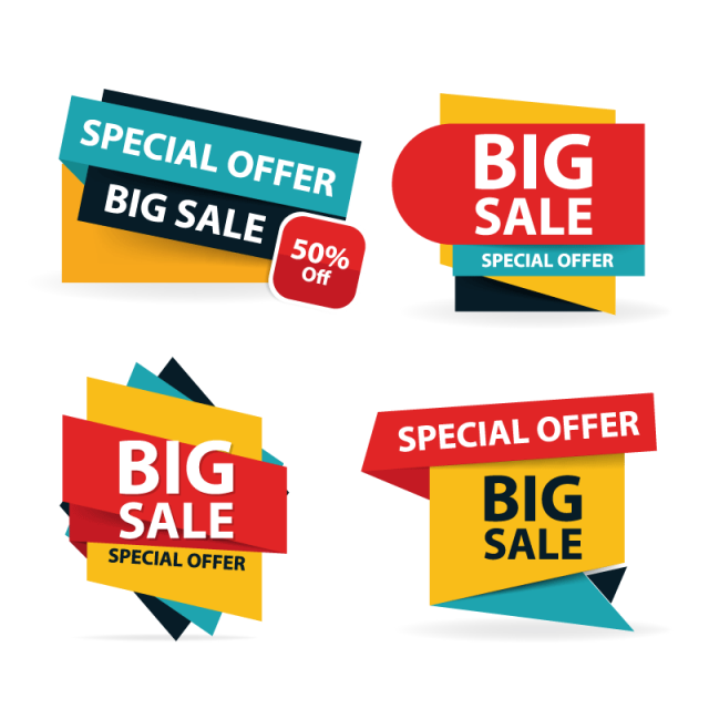labels vector offer