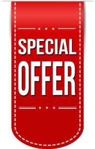 Special offer banner png. Image