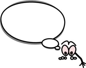 Speech clipart person. Bubble with pointing down