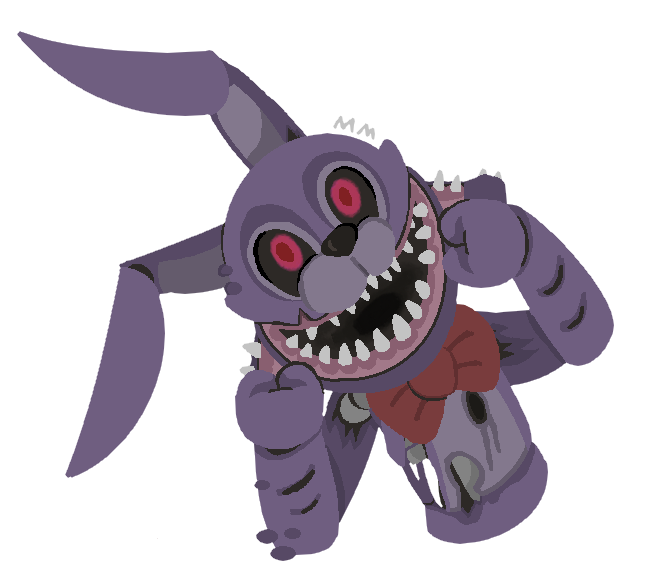 Speedpaint drawing fnaf bonnie. Twisted by miaminks on