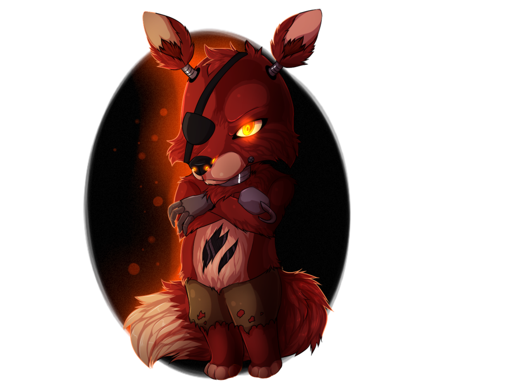 Speedpaint drawing fnaf foxy. Chibi by necroven on