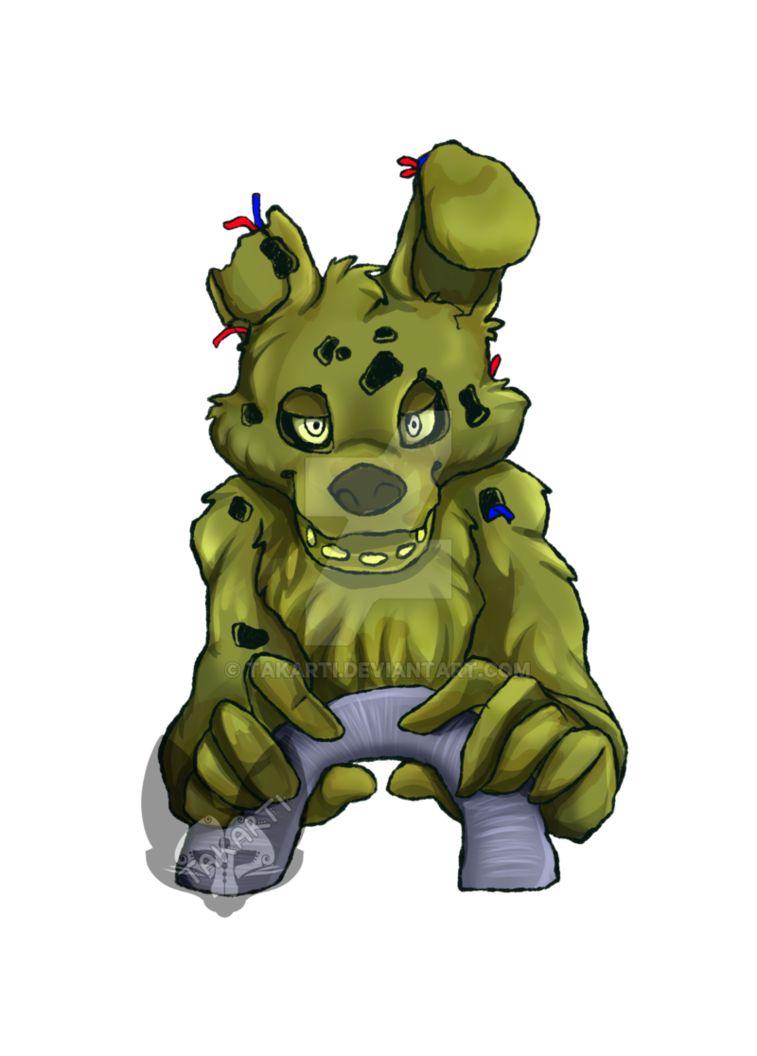 Speedpaint drawing springtrap. Five night s at
