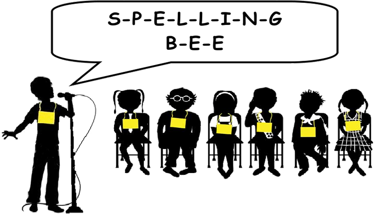 Spelling bee png. Grundy county set for