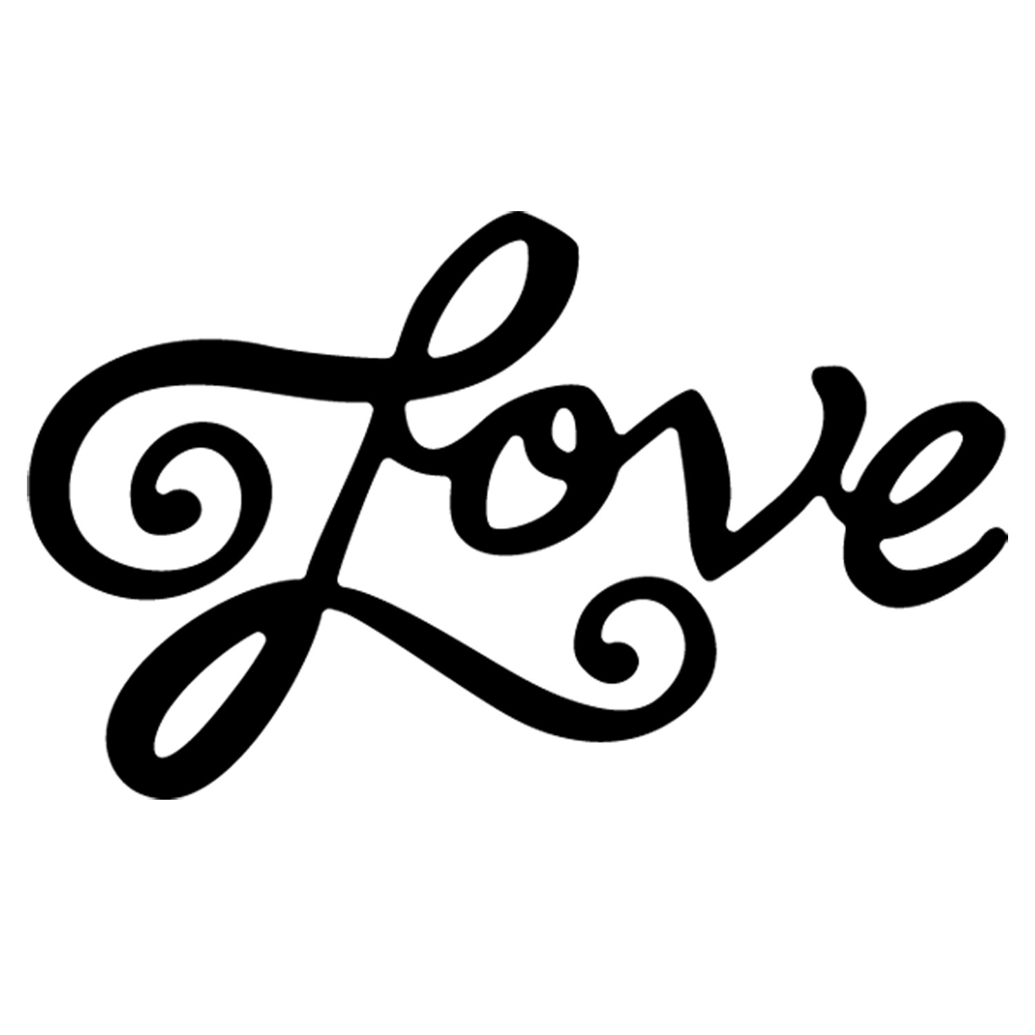 Spelling clipart cursive. The word love in