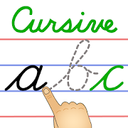 Spelling clipart cursive. Toddlers abc writing apps