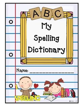 Spelling clipart dictionary. Spectacular second grade writing