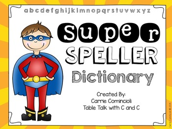 Spelling clipart dictionary. Super by carrie comincioli
