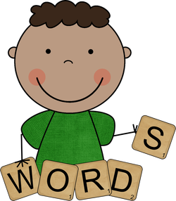 Spelling clipart dictionary. For vocabulary and