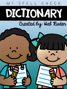 Spelling clipart dictionary. Spell check by hal