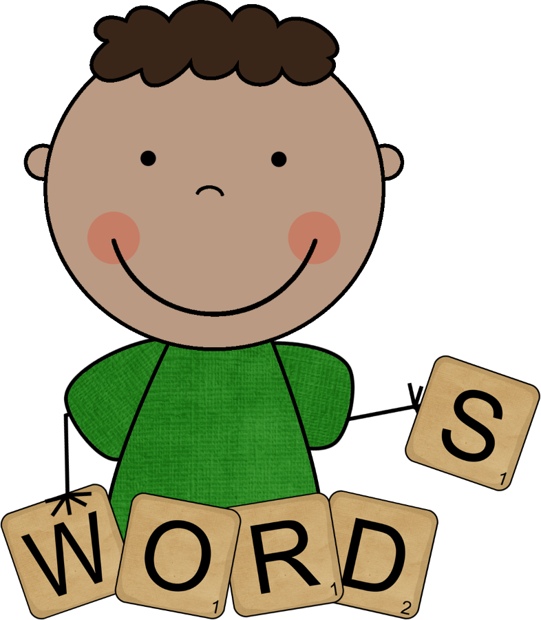 Spelling clipart school. And red words st