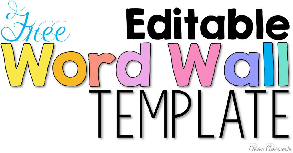 Wall clipart word wall. Activities to help fluency