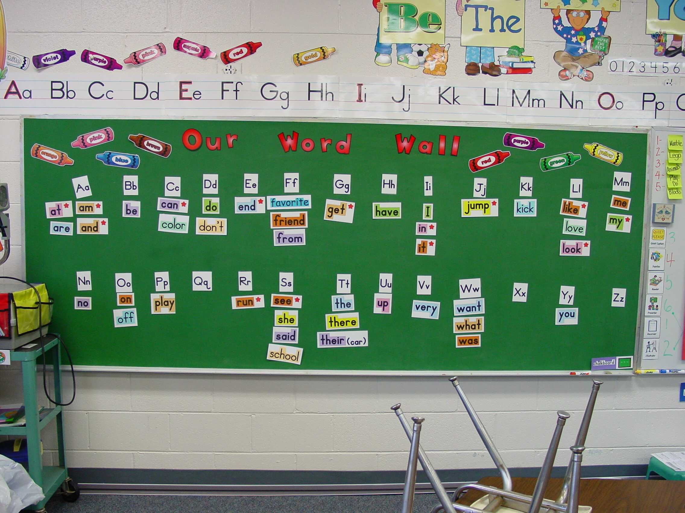 Spelling clipart word wall. This is an example