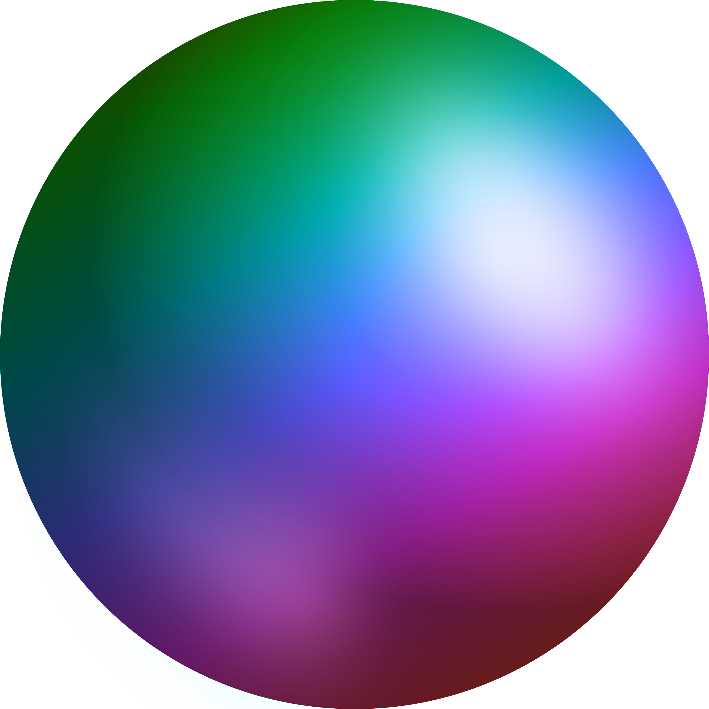 Sphere clipart. Rainbow big image png