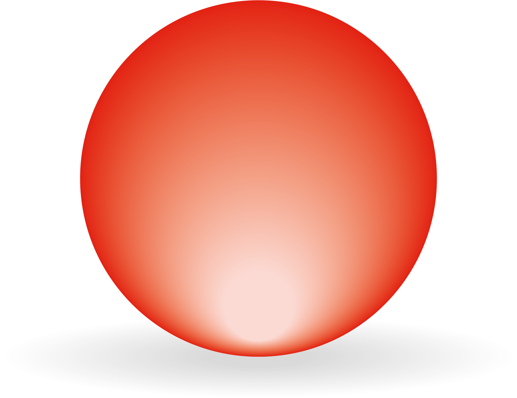 Sphere clipart red. Big image png
