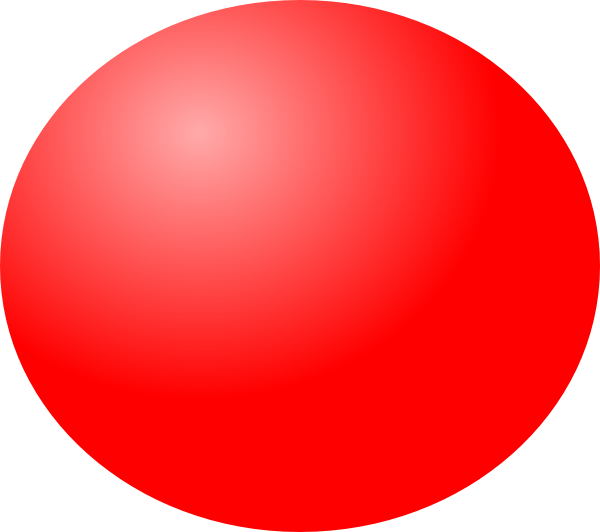 Sphere clipart red. Ball clip art at
