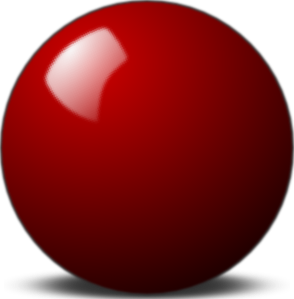 Sphere clipart svg. Stellaris red snooker ball