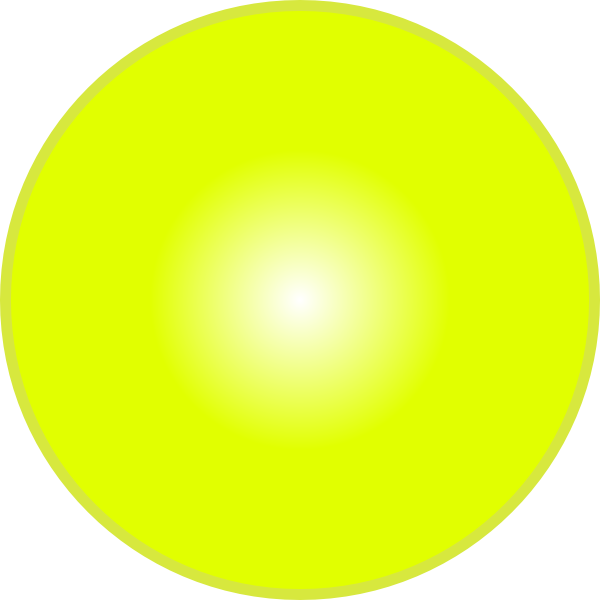 Sphere clipart yellow. D lemon ball