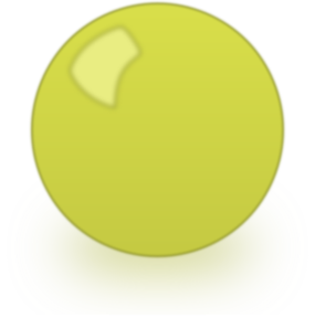 Sphere clipart yellow. Snooker ball clip art
