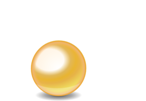 Sphere clipart yellow. Gold ball clip art