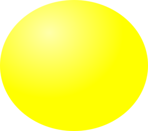 Sphere clipart yellow. Ball clip art at