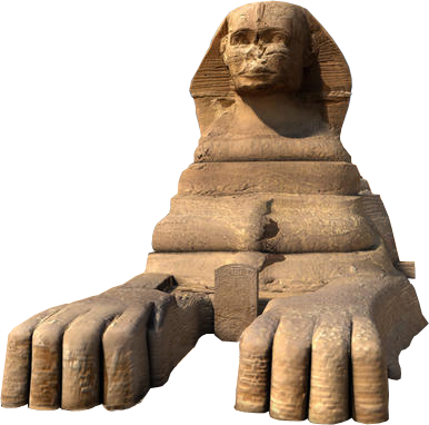 Sphinx statue png. Egyptian transparent images pluspng