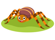 Spiders clipart. Free spider clip art