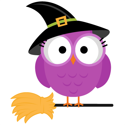 Spider clipart owl. Free cute halloween collection
