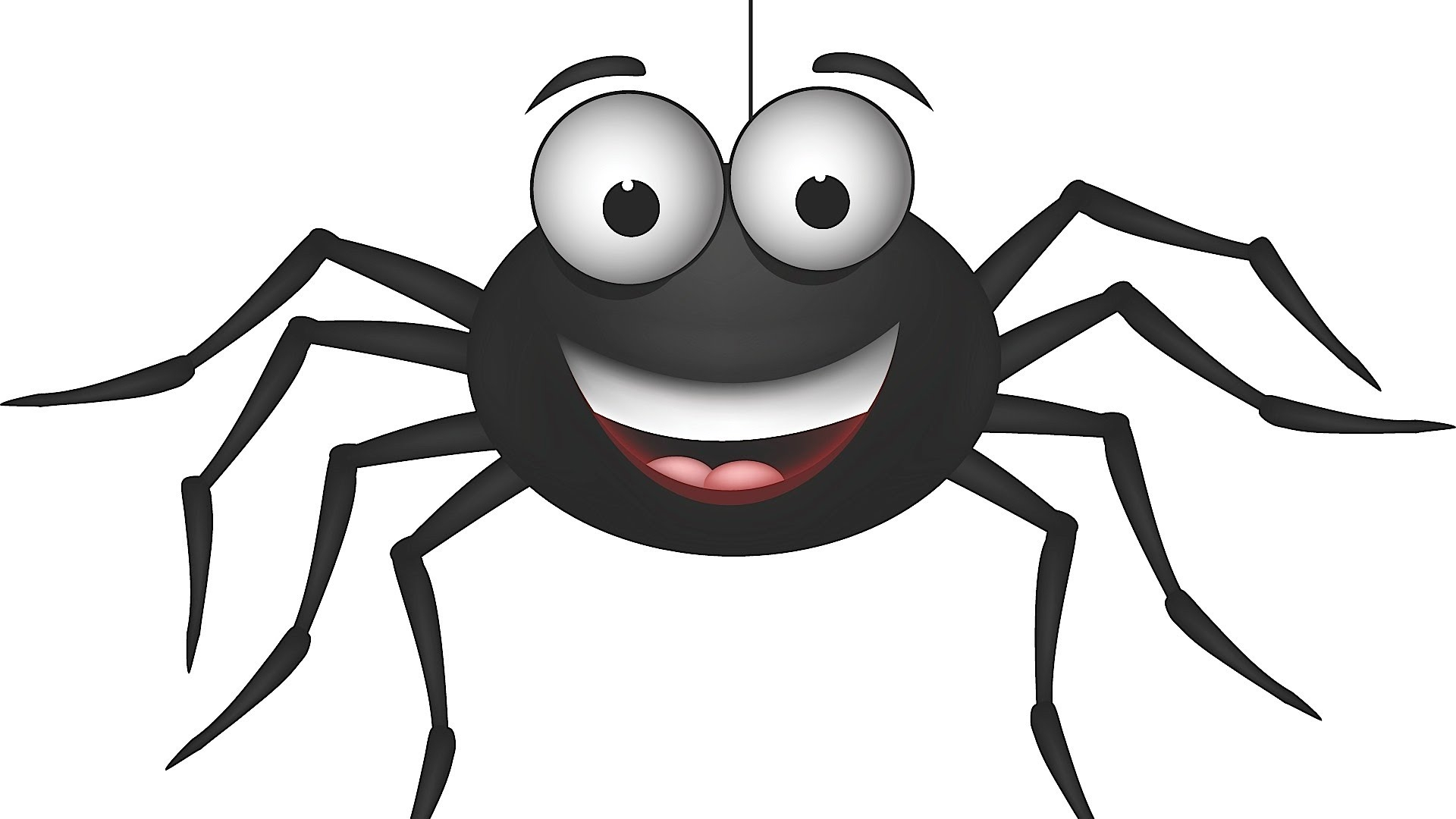 Spider clipart. New collection digital coloring