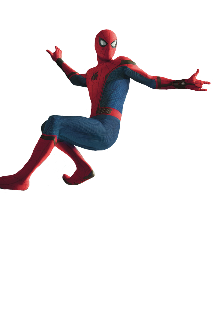 Spiderman homecoming png. By flash life on