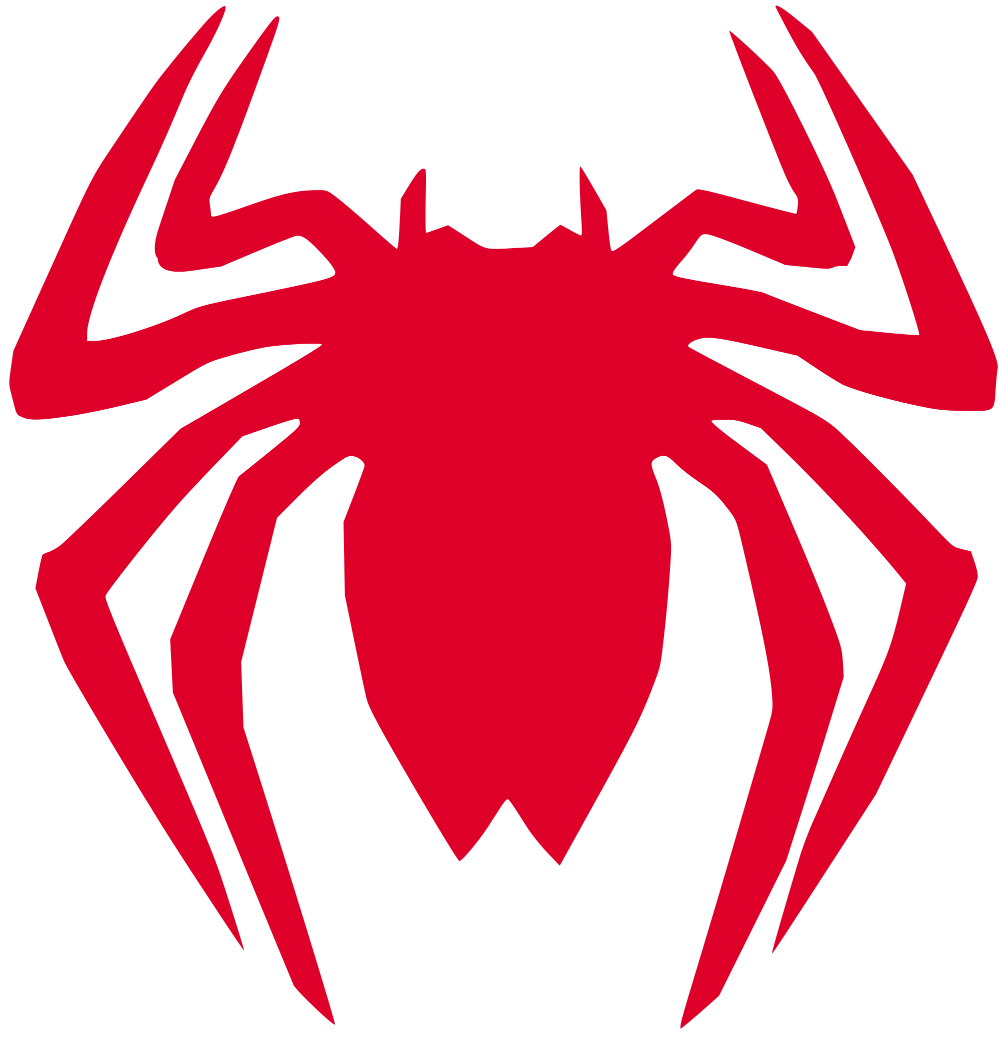 Spiderman symbol png. File back spider man