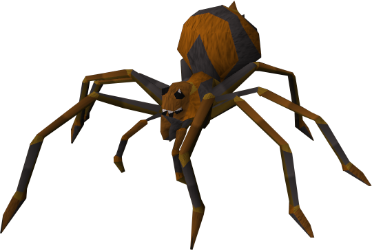 Spider png. Image fever runescape wiki
