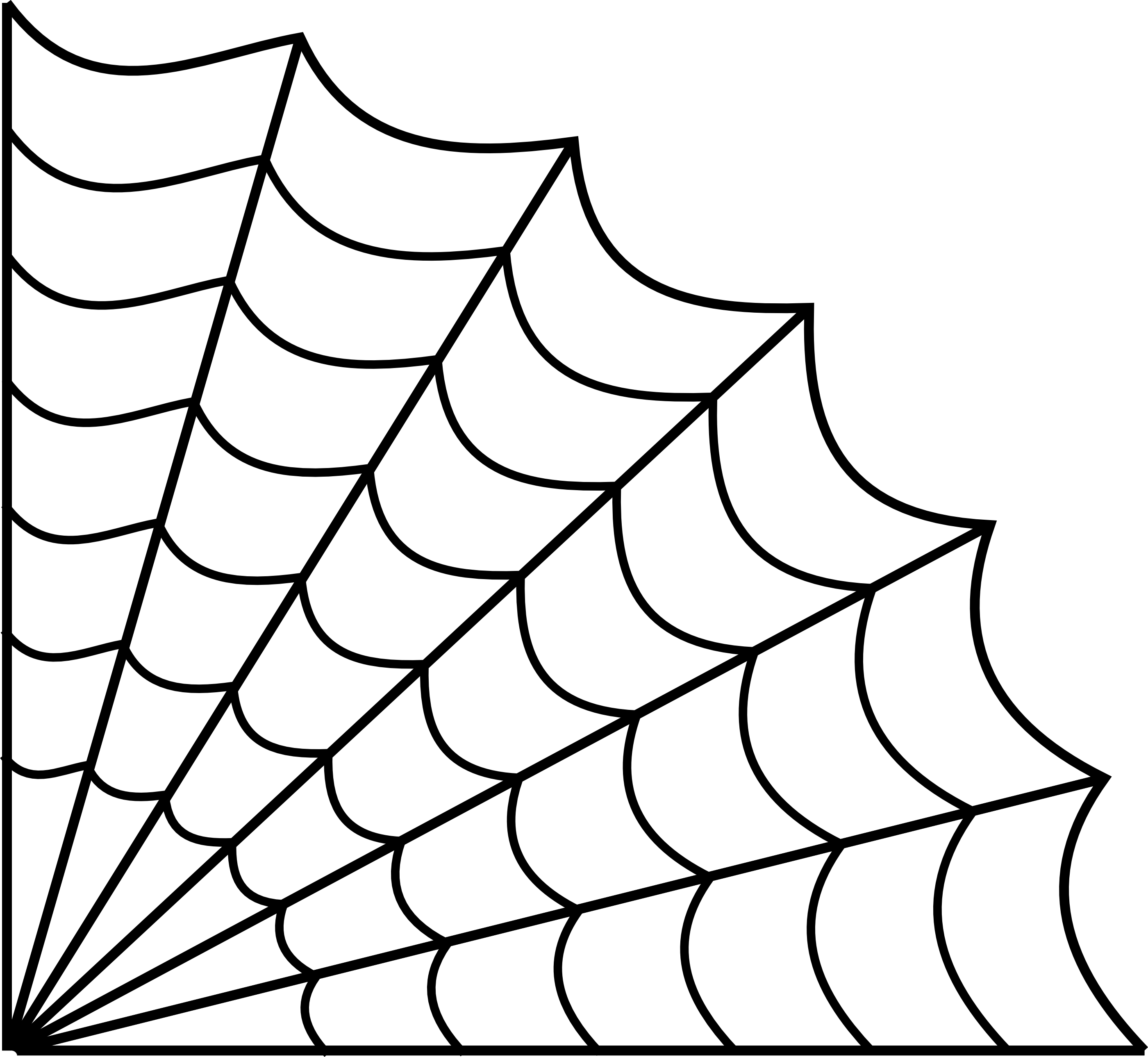 Spider web corner png transparent background. Collection of drawing