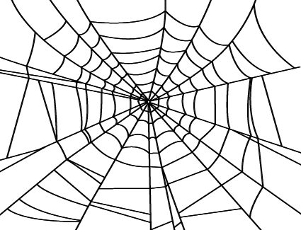 Realistic spider web png. Image screen man wiki